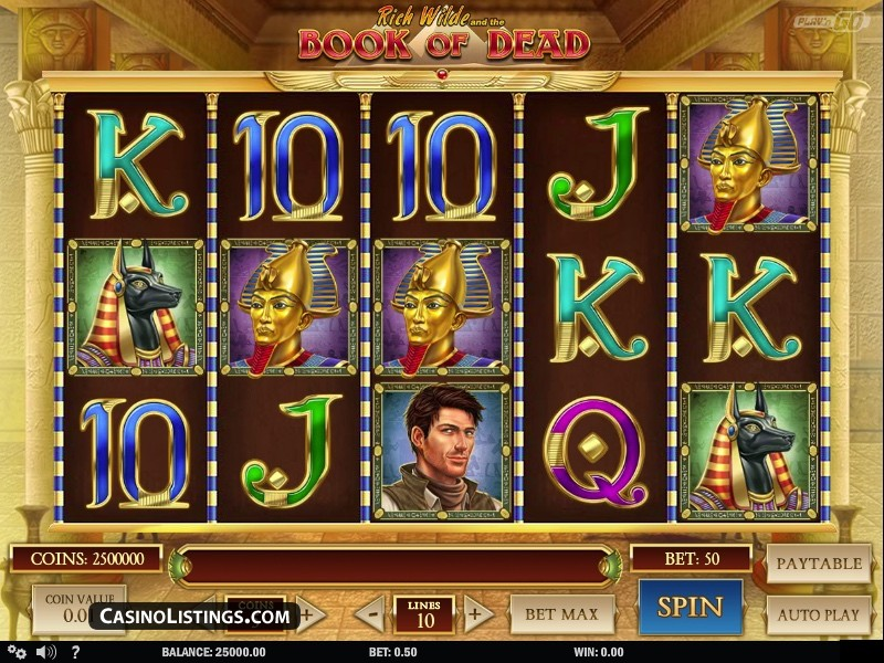 free spins on book of dead